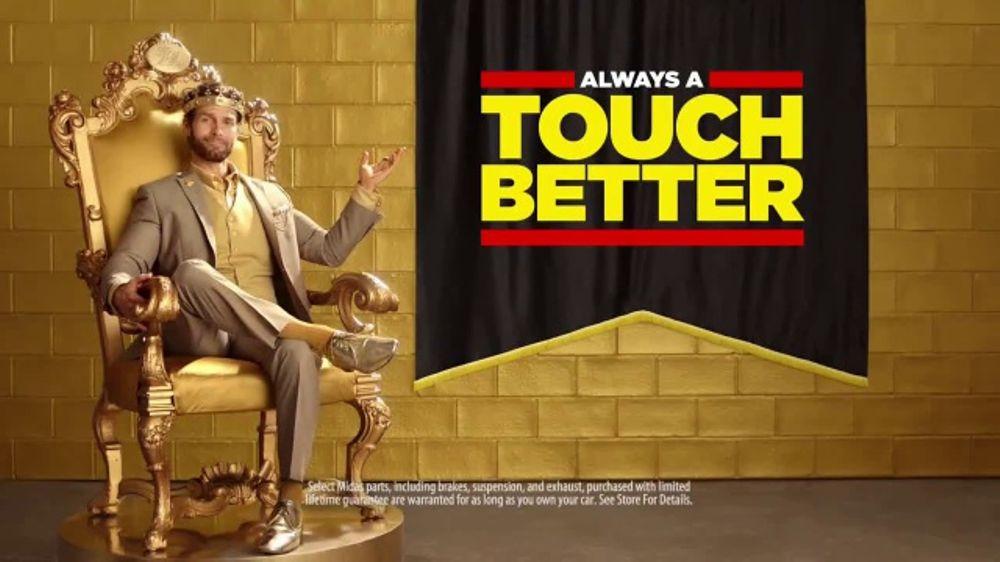 Midas TV Commercial, 'The Golden Guarantee'