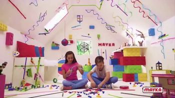 Mayka Toy Block Tape TV Spot, 'Coolest Invention Ever!'