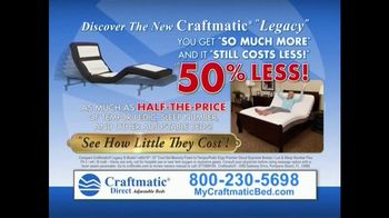 Craftmatic Legacy TV Spot, 'Half-the-Price' - Thumbnail 6