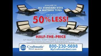 Craftmatic Legacy TV Spot, 'Half-the-Price' - Thumbnail 5