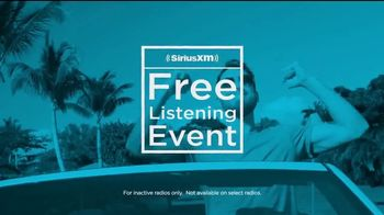 SiriusXM Free Listening Event TV Spot, 'Put Some Joy in Your Ride' - 682 commercial airings