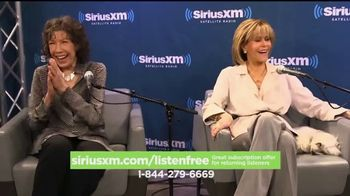 SiriusXM Free Listening Event TV Spot, 'Put Some Joy in Your Ride' - Thumbnail 7