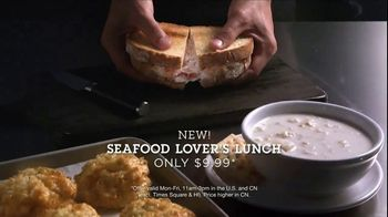 Red Lobster Crabfest TV Spot, 'Seafood Lover's Lunch'