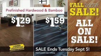 Lumber Liquidators Fall Flooring Kick-Off Sale TV Spot, 'Incredible Deals' - Thumbnail 3