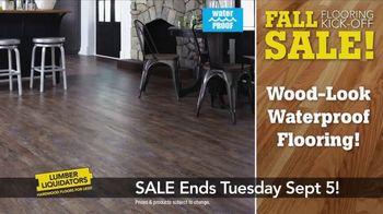 Lumber Liquidators Fall Flooring Kick-Off Sale TV Spot, 'Incredible Deals' - Thumbnail 4