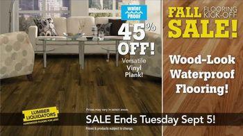 Lumber Liquidators Fall Flooring Kick-Off Sale TV Spot, 'Incredible Deals' - Thumbnail 5