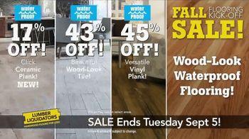 Lumber Liquidators Fall Flooring Kick-Off Sale TV Spot, 'Incredible Deals' - Thumbnail 6