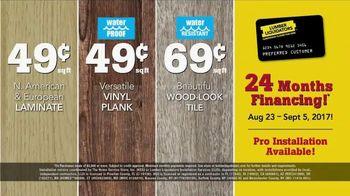 Lumber Liquidators Fall Flooring Kick-Off Sale TV Spot, 'Incredible Deals' - Thumbnail 9