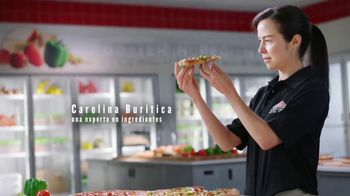 Papa John's XL 2-Topping Pizza TV Spot, 'Control de calidad' [Spanish] - Thumbnail 3
