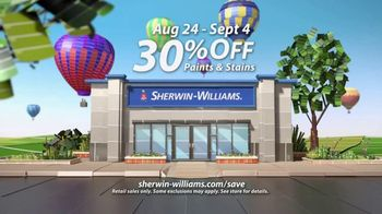 Sherwin-Williams Endless Summer Sale TV Spot, 'Color Is Around The Corner' - Thumbnail 6