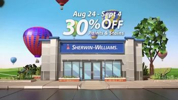 Sherwin-Williams Endless Summer Sale TV Spot, 'Color Is Around The Corner' - Thumbnail 5