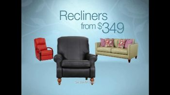 La-Z-Boy The Weekend Sale TV Spot, 'Recliners and Sofas' - Thumbnail 3