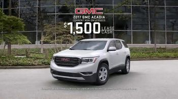 2017 GMC Acadia SLE-1 TV Spot, 'Third Row Like a Pro' - Thumbnail 8