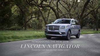 2018 Lincoln Navigator TV Spot, 'The Wait Is Almost Over' [T1]