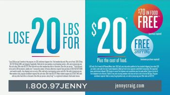 Jenny Craig TV Spot, 'Lose 20 for 20: Scientifically Proven Program' - Thumbnail 9