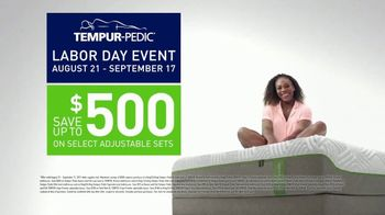 Tempur-Pedic Labor Day Event TV Spot, 'Only the Best' Feat. Serena Williams - 1861 commercial airings