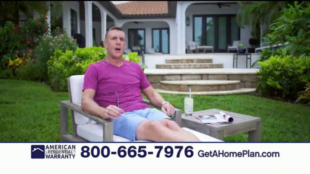 American Residential Warranty Home Warranty TV Commercial, 'Worry Free'