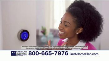 American Residential Warranty Home Warranty TV Spot, 'Worry Free' - Thumbnail 5