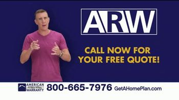 American Residential Warranty Home Warranty TV Spot, 'Worry Free' - Thumbnail 6