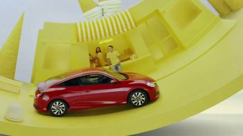 Honda Summerbration Sales Event TV Spot, 'Ice Cream: 2017 Civic LX' [T2] - Thumbnail 1