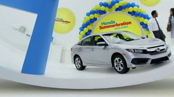 Honda Summerbration Sales Event TV Spot, 'Ice Cream: 2017 Civic LX' [T2] - Thumbnail 5