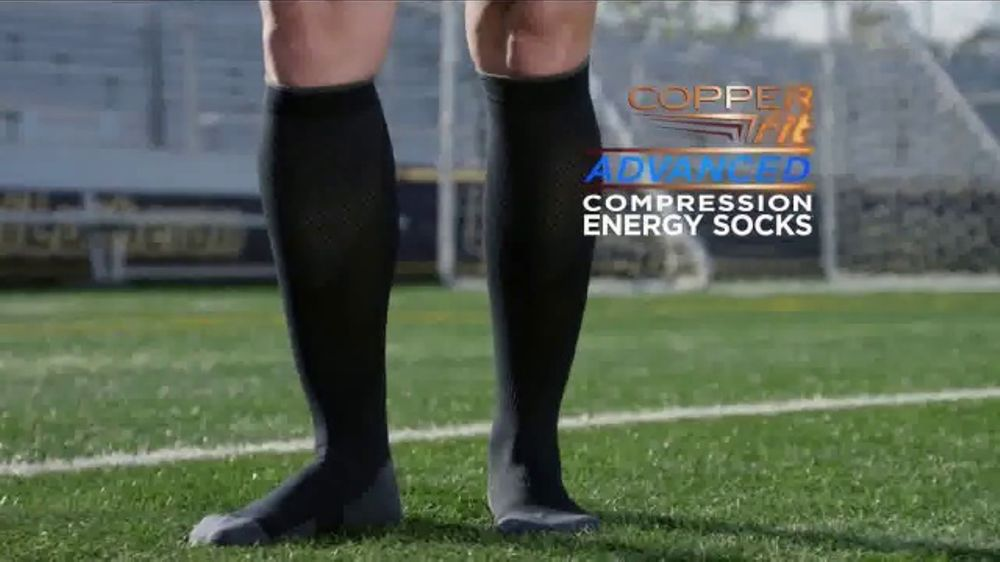 Copper Fit Advanced Compression Energy Socks TV Commercial, 'Maximum Support'