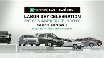 Enterprise Car Sales Labor Day Celebration TV Spot, 'More for Your Trade'