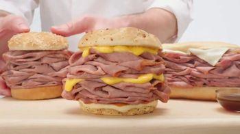 Arby's Half Pound Roast Beef Sandwiches TV Spot, 'Lion' Song by YOGI - Thumbnail 2