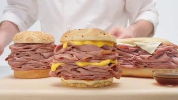Arby's Half Pound Roast Beef Sandwiches TV Spot, 'Lion' Song by YOGI - Thumbnail 3