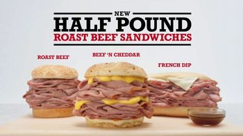 Arby's Half Pound Roast Beef Sandwiches TV Spot, 'Lion' Song by YOGI - Thumbnail 8