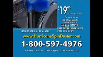 Hurricane Spin Duster TV Spot, 'Clean the Impossible' - Thumbnail 9