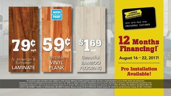 Lumber Liquidators TV Spot, 'August 16-22 Flooring Sale' - Thumbnail 7