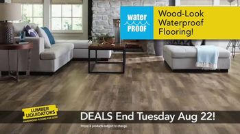 Lumber Liquidators TV Spot, 'August 16-22 Flooring Sale' - Thumbnail 3