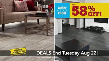 Lumber Liquidators TV Spot, 'August 16-22 Flooring Sale' - Thumbnail 4