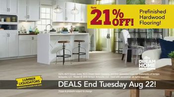 Lumber Liquidators TV Spot, 'August 16-22 Flooring Sale' - Thumbnail 6