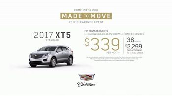 Cadillac Made to Move 2017 Clearance Event TV Spot, '2017 XT5: Research' [T2] - Thumbnail 7