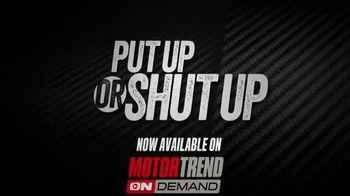 Motor Trend OnDemand TV Spot, 'Put Up or Shut Up' - Thumbnail 2