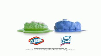Lysol Power Toilet Bowl Cleaner TV Spot, 'More Cleaning Power Protection' - Thumbnail 4