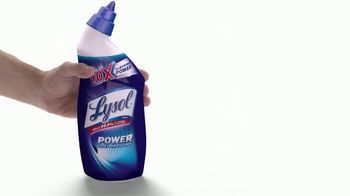 Lysol Power Toilet Bowl Cleaner TV Spot, 'More Cleaning Power Protection' - Thumbnail 6