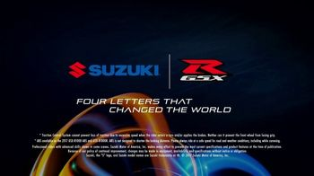 2017 Suzuki GSX R1000 TV Spot, 'Ready to Change the World, Again' - Thumbnail 8