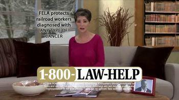 1-800-LAW-HELP TV Spot, 'Railroad Workers'