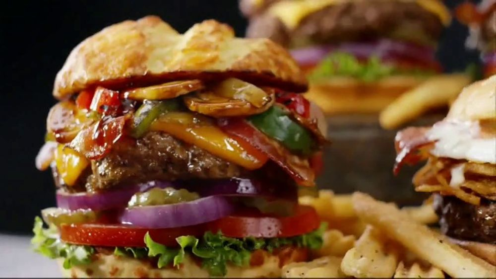 Denny's 100% Beef Burgers TV Commercial, 'Awesome'