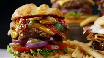 Denny's 100% Beef Burgers TV Spot, 'Awesome'