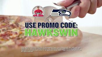 Papa John's TV Spot, 'Seahawks Win' - Thumbnail 3
