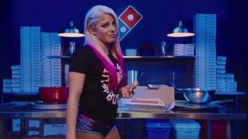 Domino's Bread Twists TV Spot, 'USA Network: Fashion Felony' Ft Alexa Bliss - 22 commercial airings