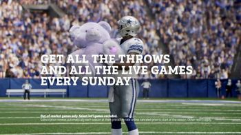 DIRECTV NFL Sunday Ticket TV Spot, 'All the Throws' Featuring Dak Prescott - Thumbnail 10