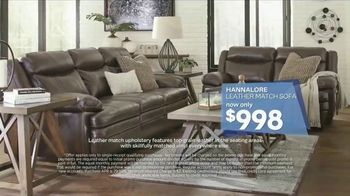Ashley HomeStore Labor Day Event TV Spot, 'Leather Sofas and Mattresses' - Thumbnail 4