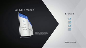 XFINITY X1 TV and Internet TV Spot, 'Fact for Fact: Add Mobile' - Thumbnail 3
