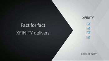 XFINITY X1 TV and Internet TV Spot, 'Fact for Fact: Add Mobile' - Thumbnail 4