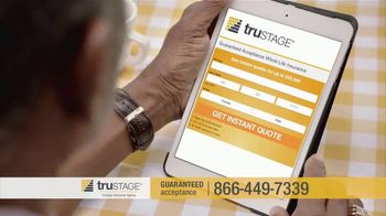 TruStage Guaranteed Acceptance Whole Life Insurance TV Spot, 'Be Prepared' - Thumbnail 2